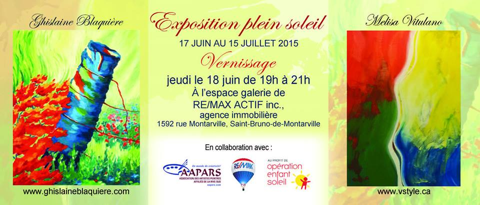 Exposition Galerie Remax